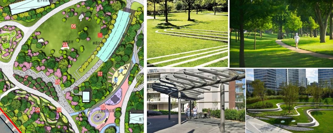 强化纵向的围合感,仪式上广场及树景观成阵形修竹序列,强化广场感的建筑设计可以进中建三局吗图片